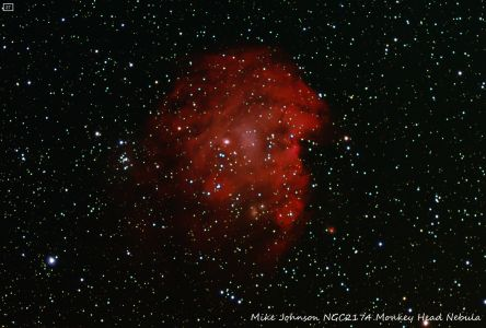 NGC 2174 Monkey Head Nebula